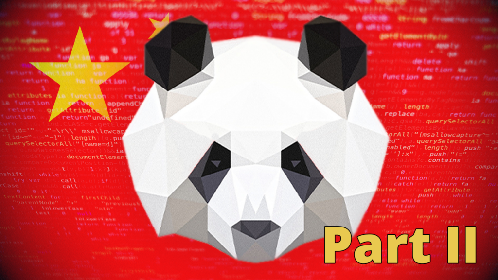 China Hacks the Planet - Part II