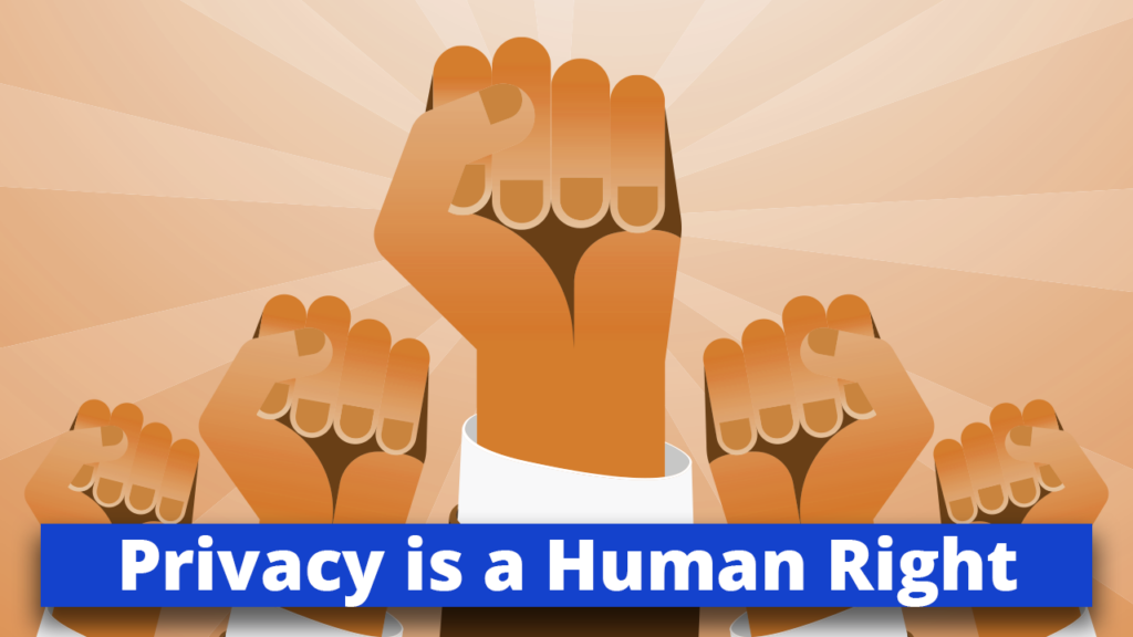 privacy is a Human Right